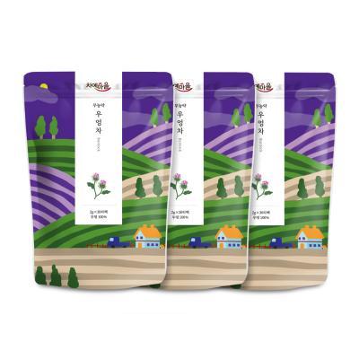 차예마을 볶은 무농약우엉차 30티백 x 3팩