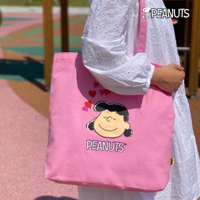 [Peanuts Bag&Acc]루시 자수에코백