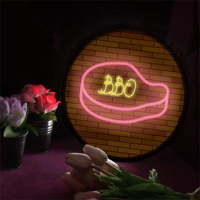 no163-LED액자25R_BBQ바베큐