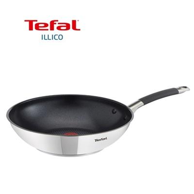 주방명품 Tefal 테팔 일리코 스테인레스 볶음팬 웍 28cm (단품)