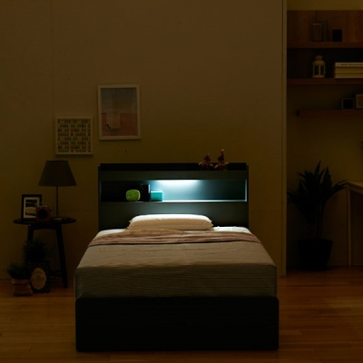 샤일리 LED 4단 침대 SS (매트리스 미포함)