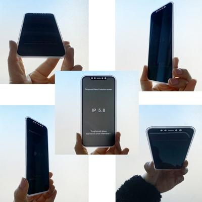 아이폰 풀커버 360도 사생활 보호필름 강화유리