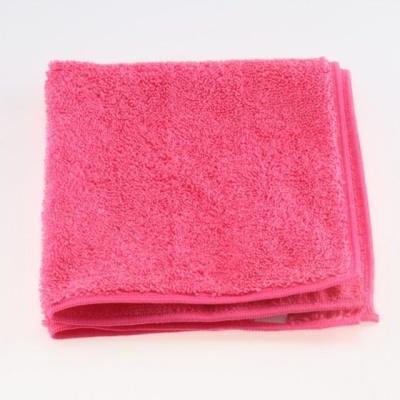 코디텍스 극세사 타월 핑크 40X40cm 다용도타월