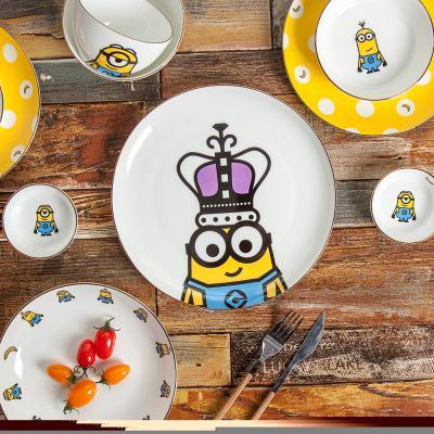 미니언즈 디너세트 12P(골드에디션) 식기 접시