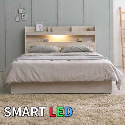 스마트 LED 침대 퀸 KC168Q