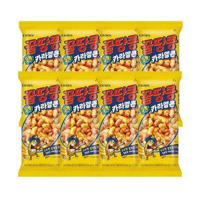꿀땅콩 듬뿍 카라멜콘 44g x 8봉