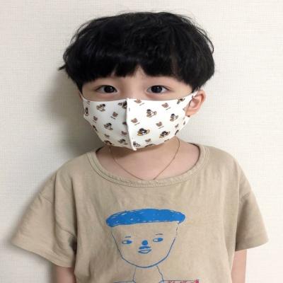 핑구 아동용 구리 항균 마스크 2개 세트 (3세-6세)
