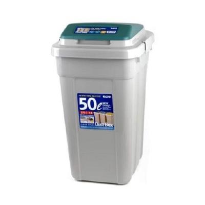 대용량 휴지통 크린스페이스 50L 쓰레기통 사무실