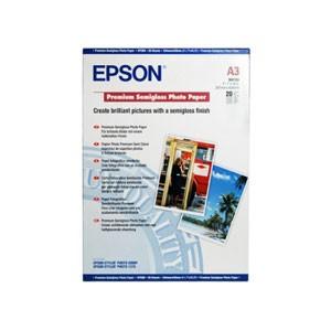 엡손(EPSON)용지 C13S041334 (프리미엄 저광택 사진용지) / Premium Semi gloss Photo Paper A3 / 20매