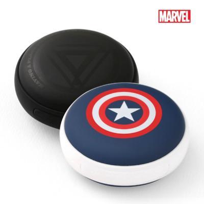 [MARVEL정품] 캡틴아메리카 보조배터리 손난로