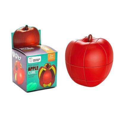 사과 3D 과일 큐브 퍼즐 미니 창의력 블럭