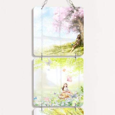 nn377-멀티아크릴액자_행복한봄날(4단소형)