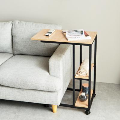 간이 1인책상 럭스 이동식탁자 테이블 노트북 사이드