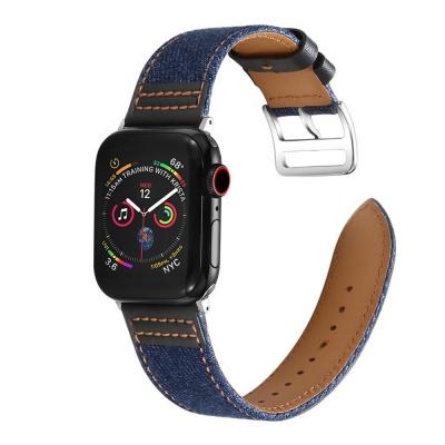 애플워치 4/3/2 가죽밴드 캐주얼 스트랩 시계줄 1037