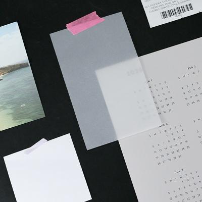 [아이스타일] 트레이싱 메모 패드 (무지)