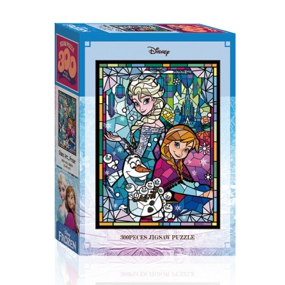 디즈니 글라스아트 겨울왕국 퍼즐 300피스 A03-005