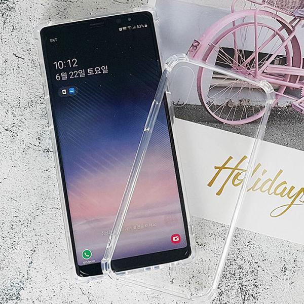 클리어 심플 젤하드 케이스(LG V50)