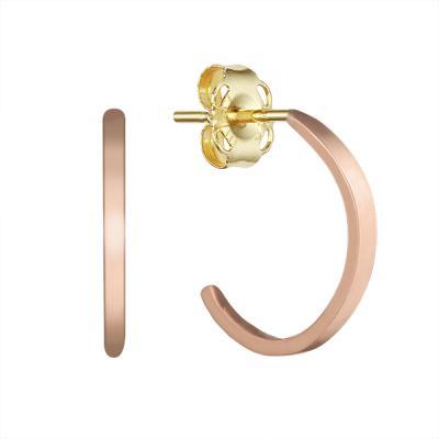 심플 C형 귀걸이(레드1.5mm) ECOM4357-1
