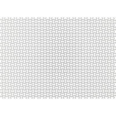 1000피스 직소퍼즐 - 순백지옥
