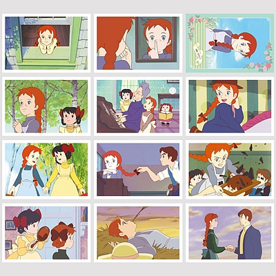 빨강머리앤 엽서북