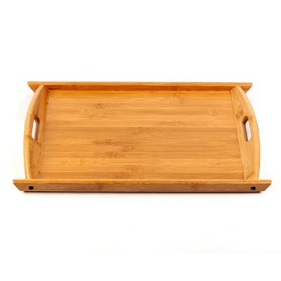 대나무 손잡이 쟁반(52x34.5cm)