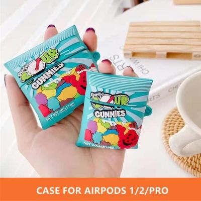 에어팟 프로/2/1 귀여운 젤리사워 커플 실리콘 케이스