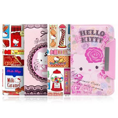 갤럭시노트 2용 Hello Kitty Wallet Diary Case
