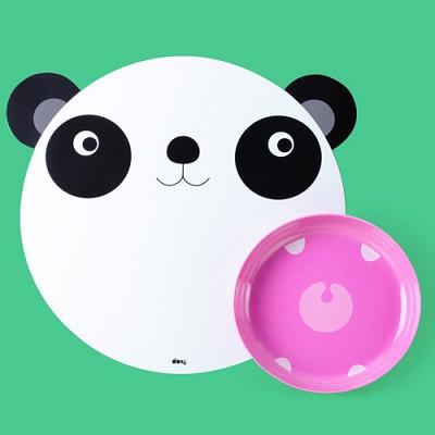 [원더스토어] DOIY 도이 헝그리매트 유아 식판 팬더