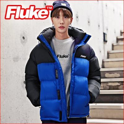 [플루크 패딩] 마나슬루 헤비 패딩 점퍼 블랙 FPJ1503-BLACK FLUKE 15FW