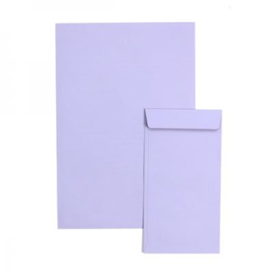 1000 컬러편지지- 보라색