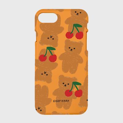 Dot cherry big bear-orange(color jelly)