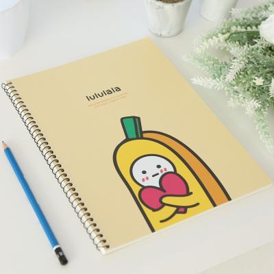 포포팬시 바나나 연습장 옐로우