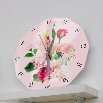 il581-아크릴시계_꽃송이들06(믹스)