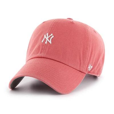 47브랜드 MLB모자 뉴욕 양키즈 아일랜드레드 미니로고