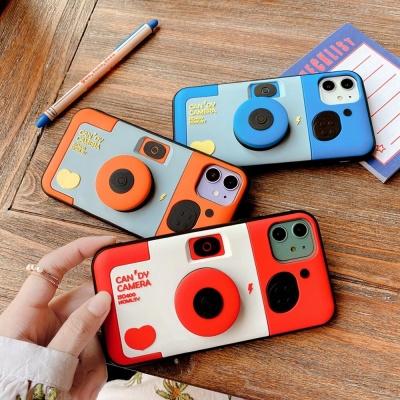 아이폰SE2 8 7 플러스/카메라 스마트톡 실리콘 케이스