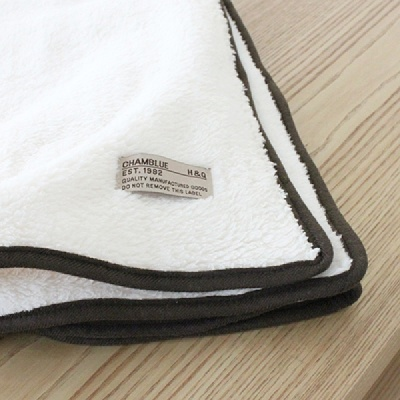 [CONZ] 베이직 극세사 무릎 담요 100x145