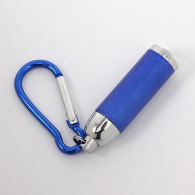 카라비너 LED 후레쉬(블루)