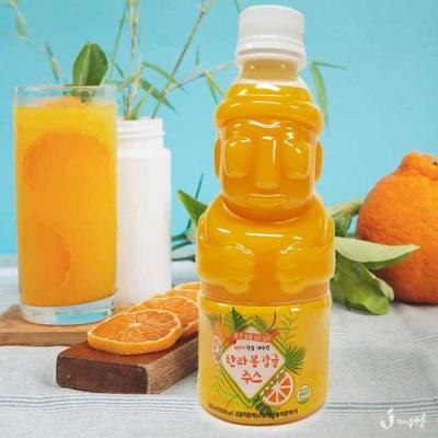 [Sweet Jeju] 자연담은 한라봉 감귤 주스 330mlx16병