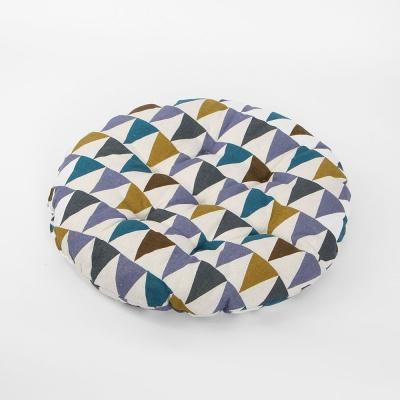 쿠지 삼각 원형방석(컬러)