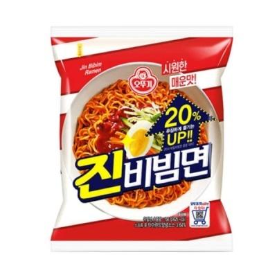 오뚜기 진비빔면 1BOX(8팩/32개)
