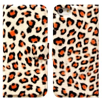 Leopard Flip 오렌지(아이폰 5용)