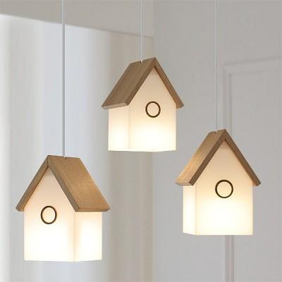 [바이빔][LED] 꼬빌3등 펜던트-에쉬