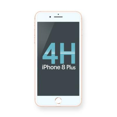 아이폰8 플러스 4H코팅 고투명 보호필름 BLACK LABEL