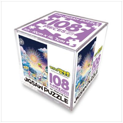 뽀롱뽀롱 뽀로로 직소퍼즐 108pcs 미니큐브: 불꽃축제