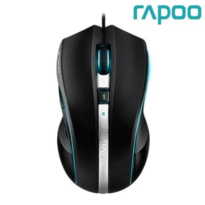 라푸 LED 게이밍 레이저 마우스 RAPOO VPRO V900 (8200DPI / 4개 DPI 변경 / 5버튼 / 12000FPS / 매크로 / 2MB 온보드 메모리 / OMRON 스위치 / AVAGO칩셋)