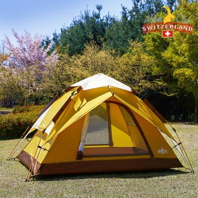 스위스알파인클럽 루나 원터치 3-4인용 텐트 ACT-03
