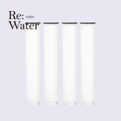바스템 리워터 워터세이빙 필터 샤워기