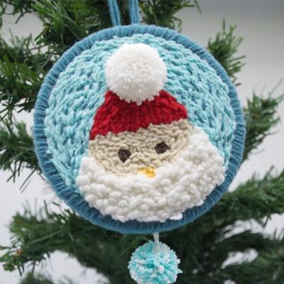 펀치니들 크리스마스 산타 DIY 키트