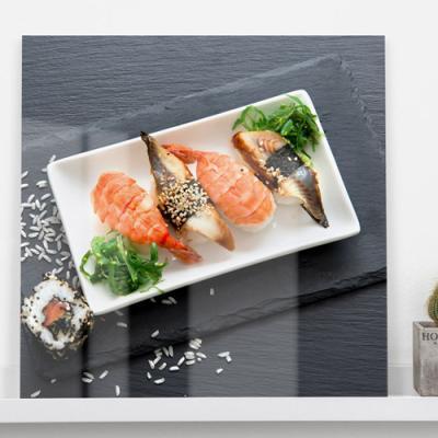 ce142-아크릴액자_맛있는초밥(중형)