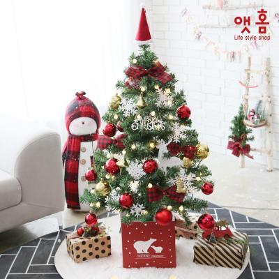앳홈 와일드로즈 크리스마스 트리 130cm